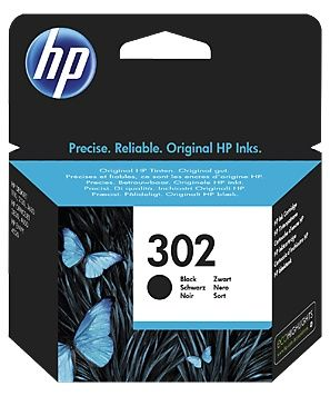 Cartus Cerneala Original HP Black, nr.302, F6U66AE